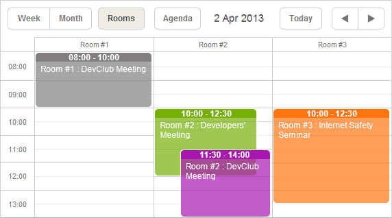 Scheduler example 2
