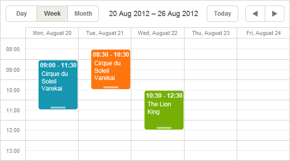 Scheduler example 4